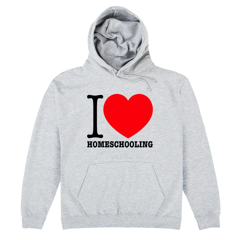 CHEAP I Love Homeschooling Light Hoodie 28509921091 – Clothing Accessories