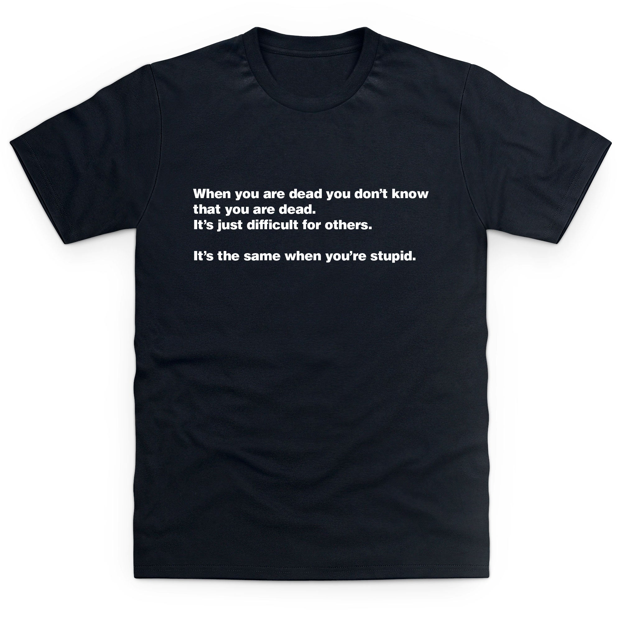 CHEAP When You Are Dead Kid's T Shirt 25897396473 – Clothing Accessories