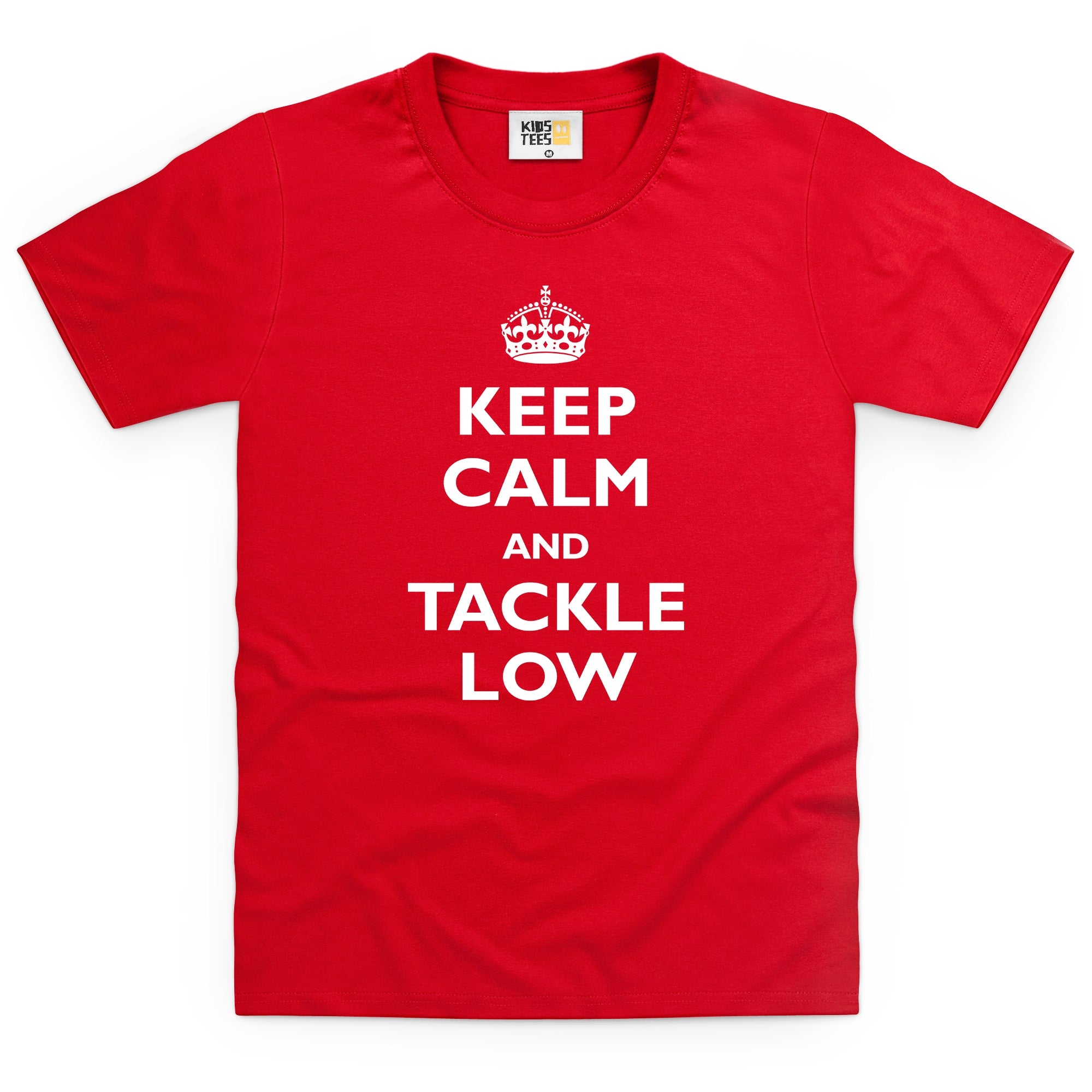 CHEAP Keep Calm and Tackle Low Kid's T Shirt 25874570335 – Clothing Accessories