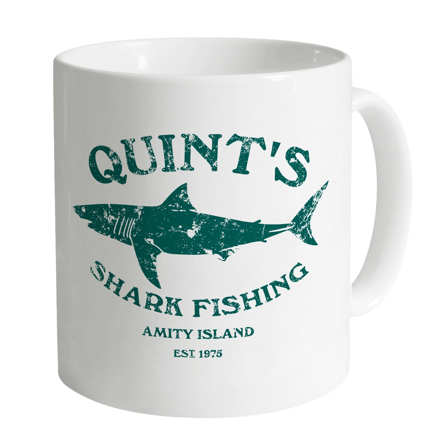 Cheap Inspired By Jaws – Quint's Shark Fishing Mug Clothing & Accessories