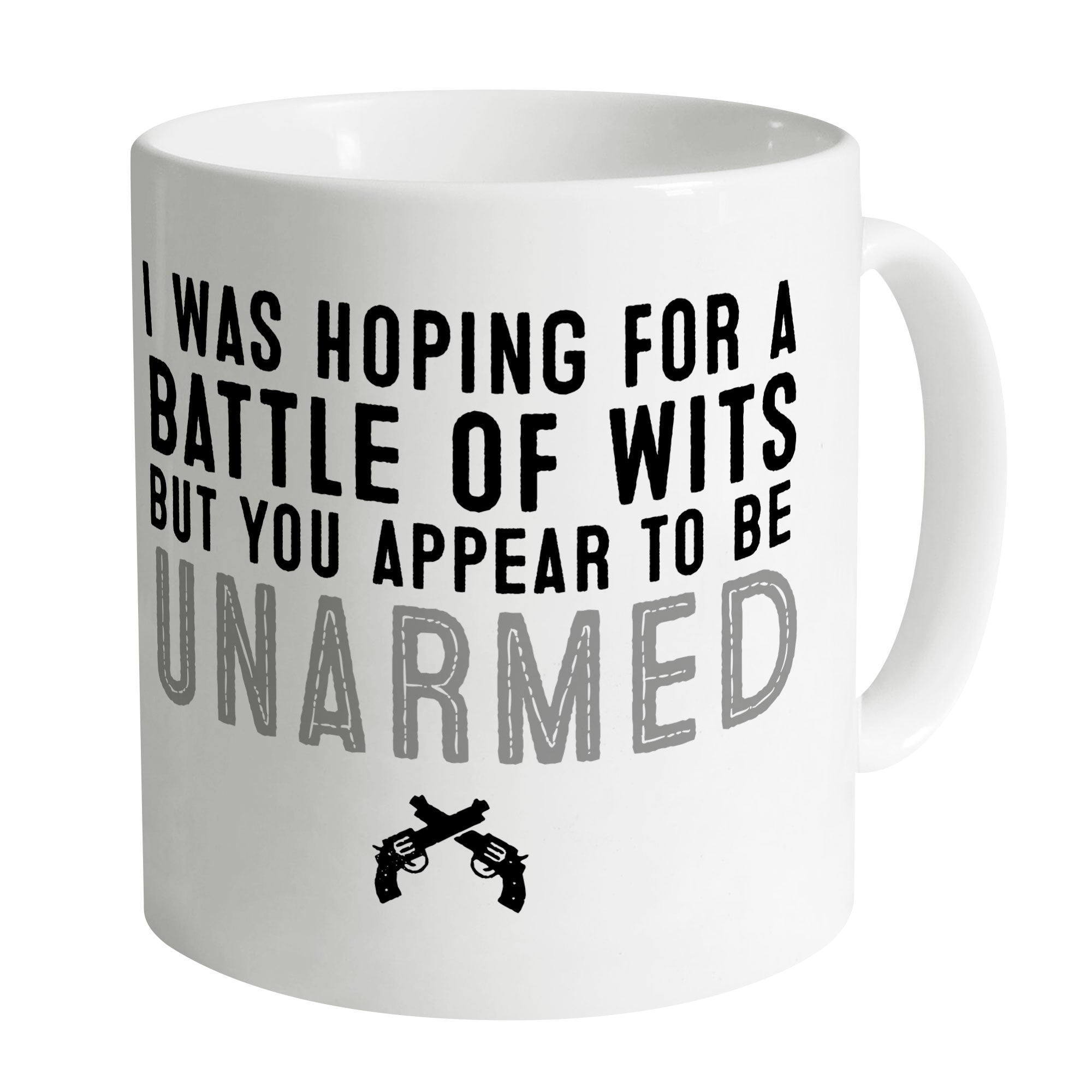 Cheap Battle of Wits Mug Clothing & Accessories