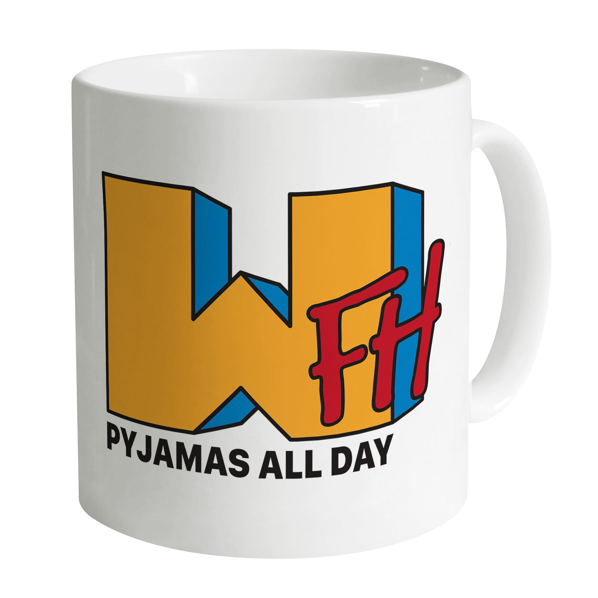 Cheap Work From Home PJs Mug Clothing & Accessories