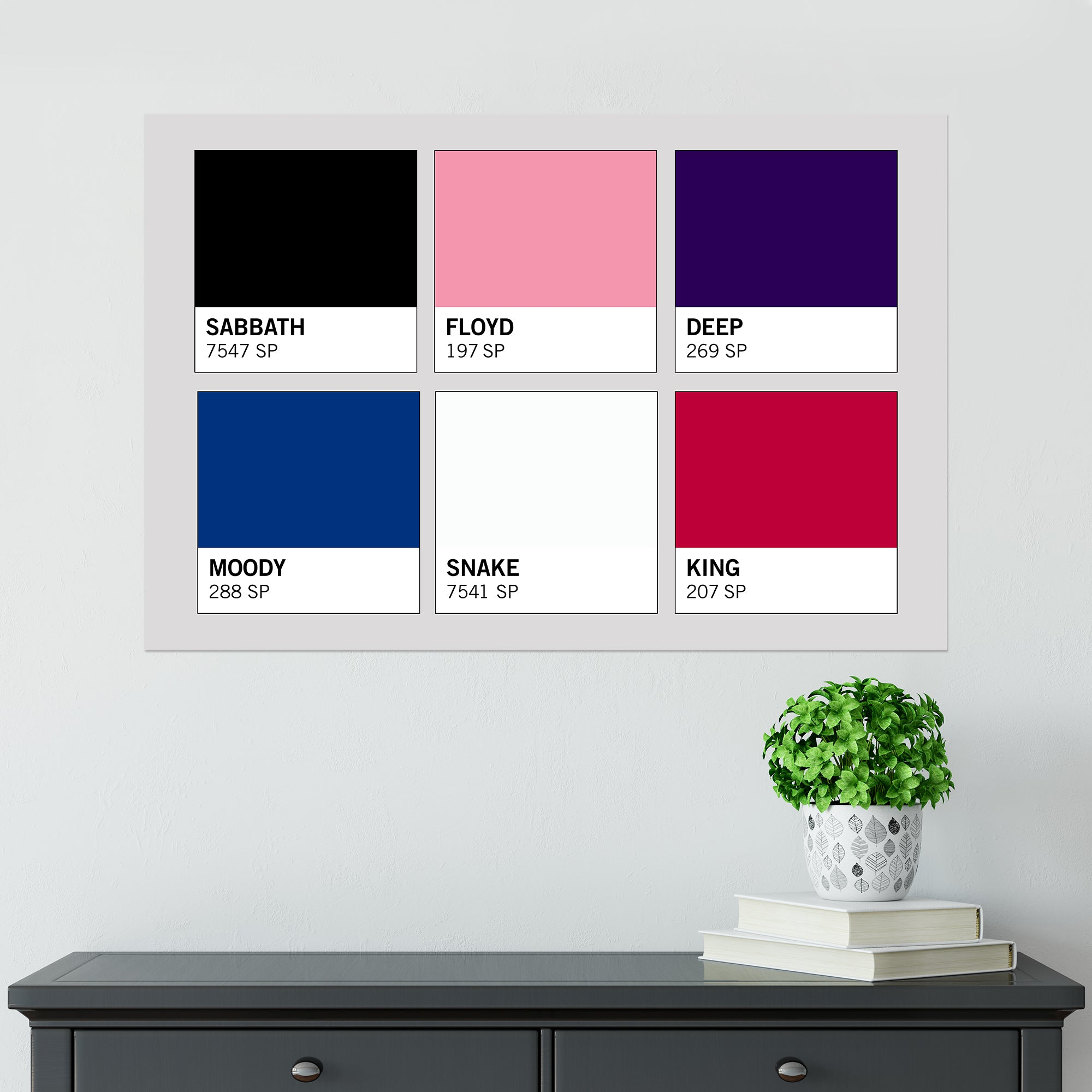 CHEAP Band Pantones Poster 25050042213 – Clothing Accessories