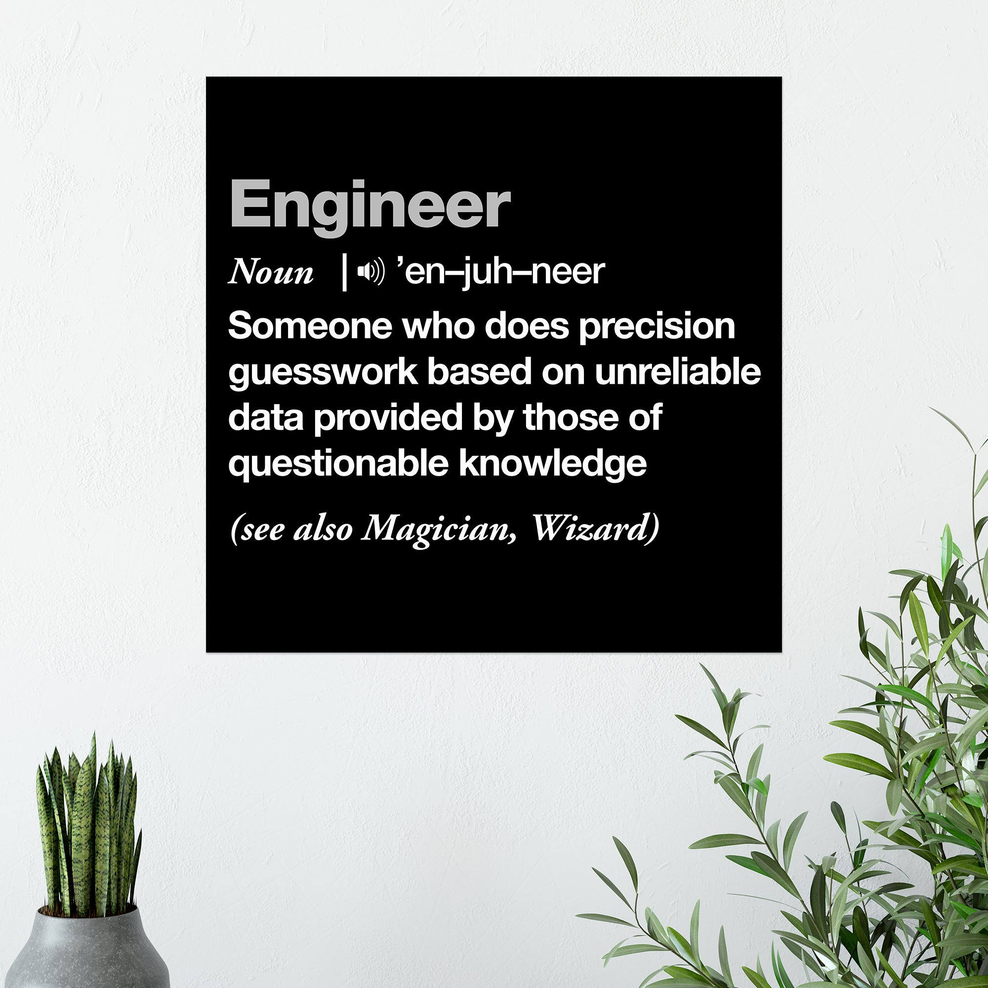 CHEAP Definition Of An Engineer Poster 25050042217 – Clothing Accessories