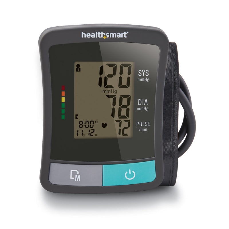 HealthSmart® Standard Series Auto Blood Upper Arm Pressure Monitor