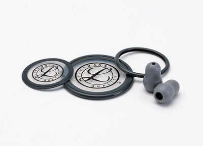 Littmann® Stethoscope Spare Parts Kit, Cardiology III™, Gray, 40004