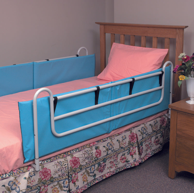 Vinyl Bed Rail Cushions with Non-Allergenic Cover