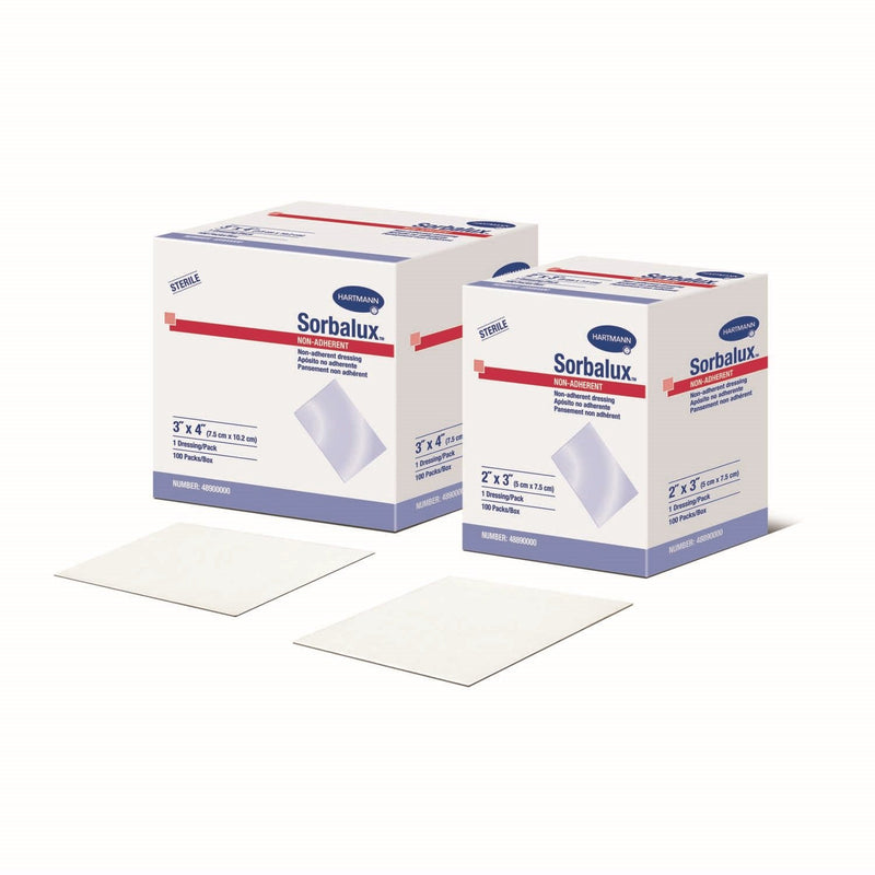 "Sorbalux® Non-Adherent Dressing (Sterile) 3"" x 8"""