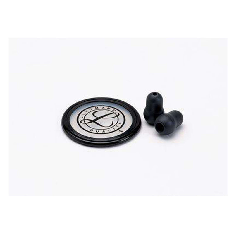 Littmann® Stethoscope Spare Parts Kit, Master Classic™, Black, 40022