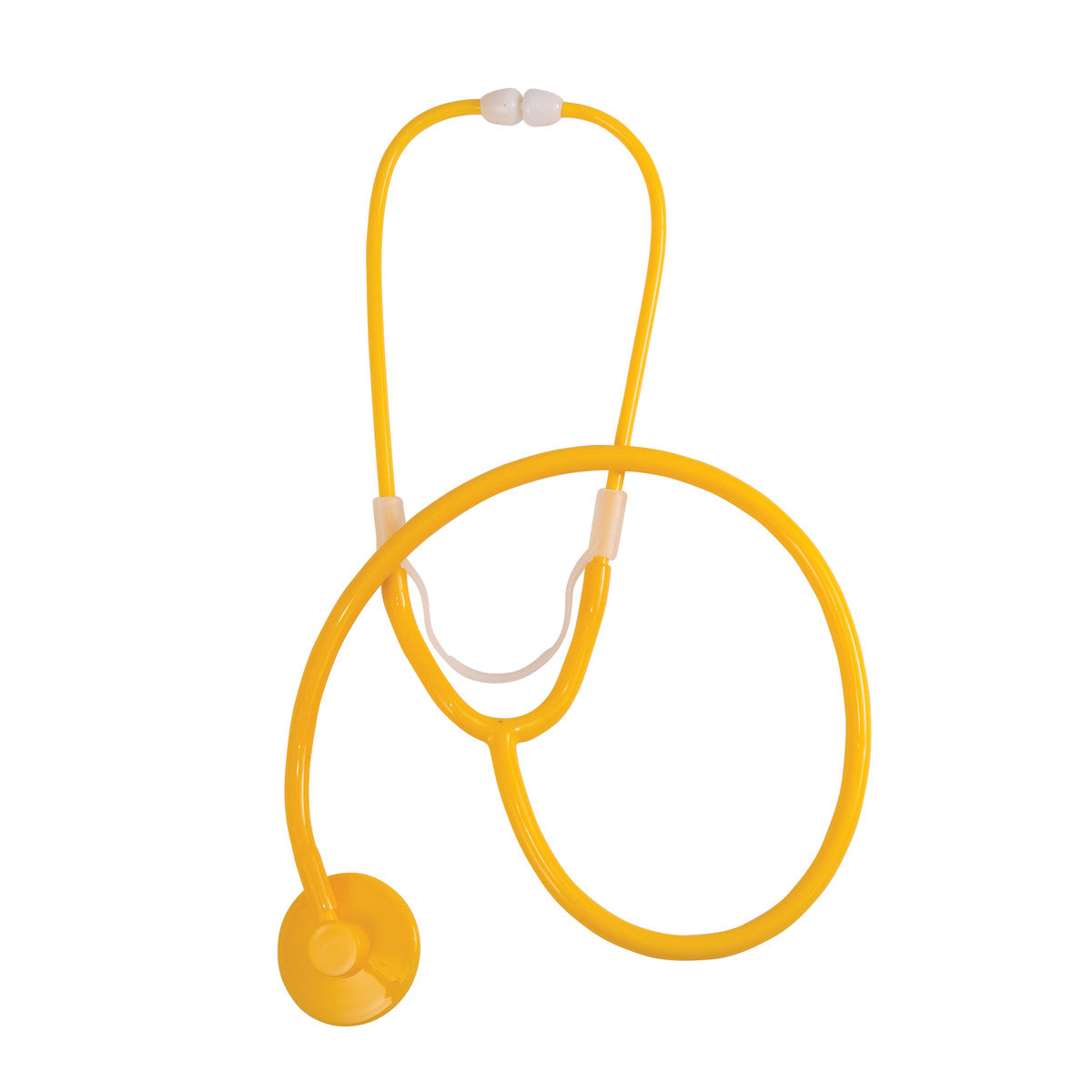 Stethoscope yellow. Dispos a scope single