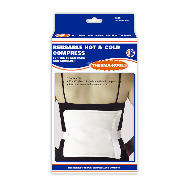 Therma-Kool Reusable Hot/ Cold Compress for Back and Shoulder