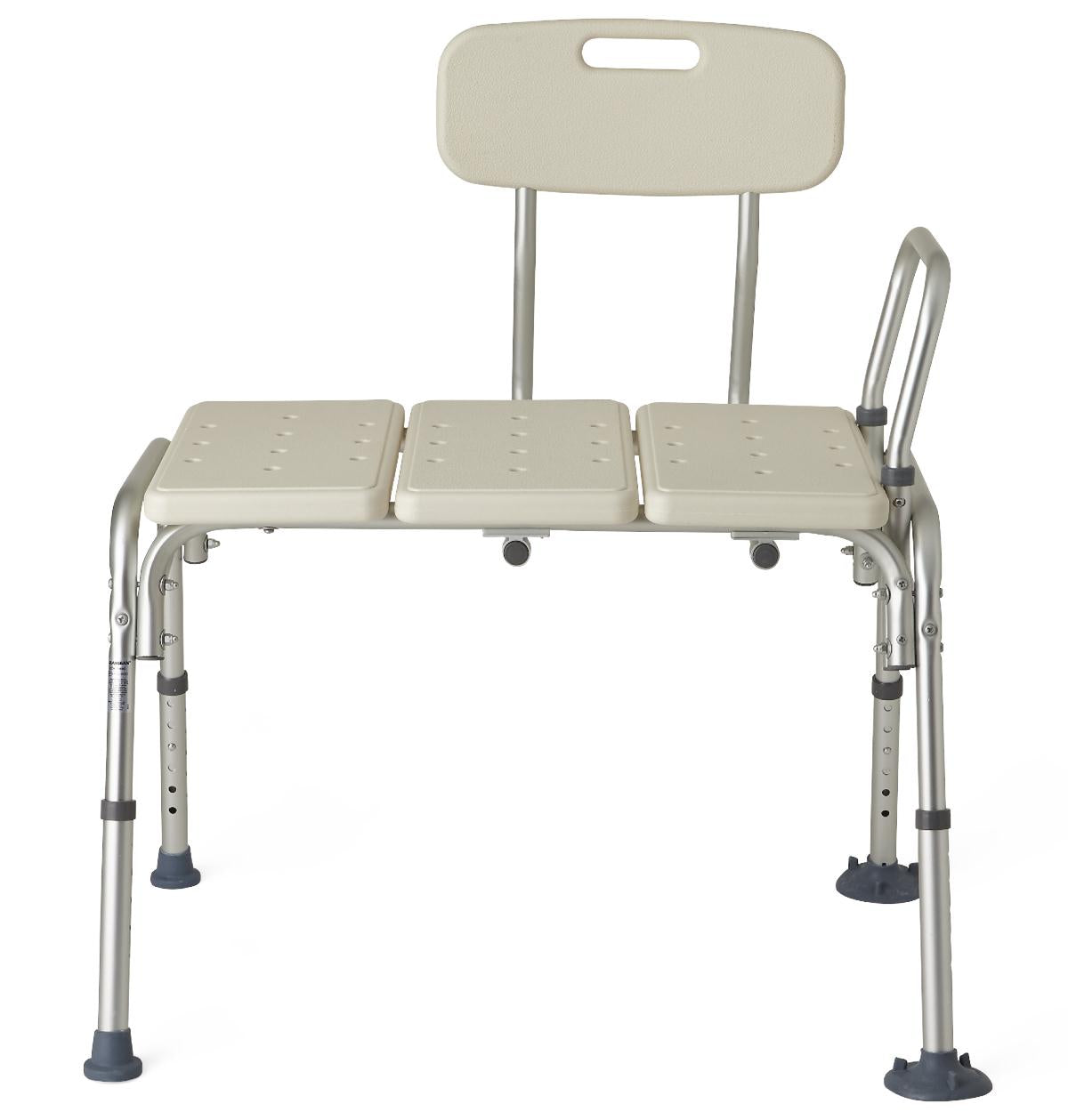 Medline Guardian Transfer Bench with Back at Meridian Medical Supply