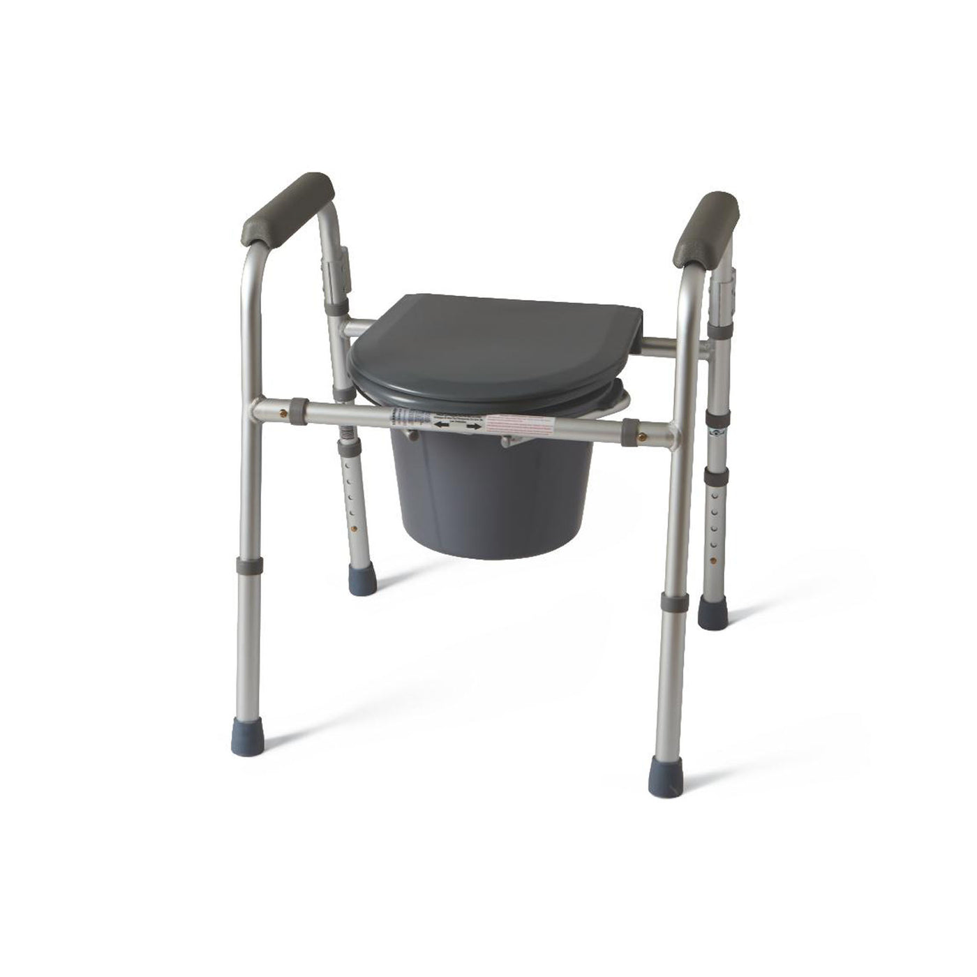 Medline Guardian Folding 3-In-1 Commode at Meridian Medical Supply