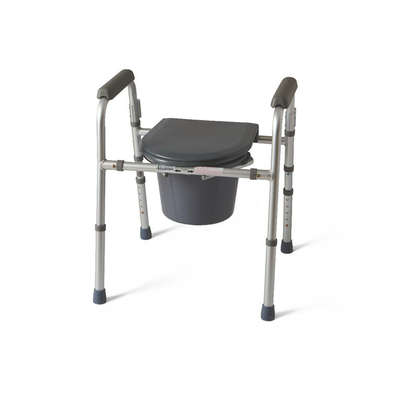 Medline Guardian Folding 3-In-1 Commode