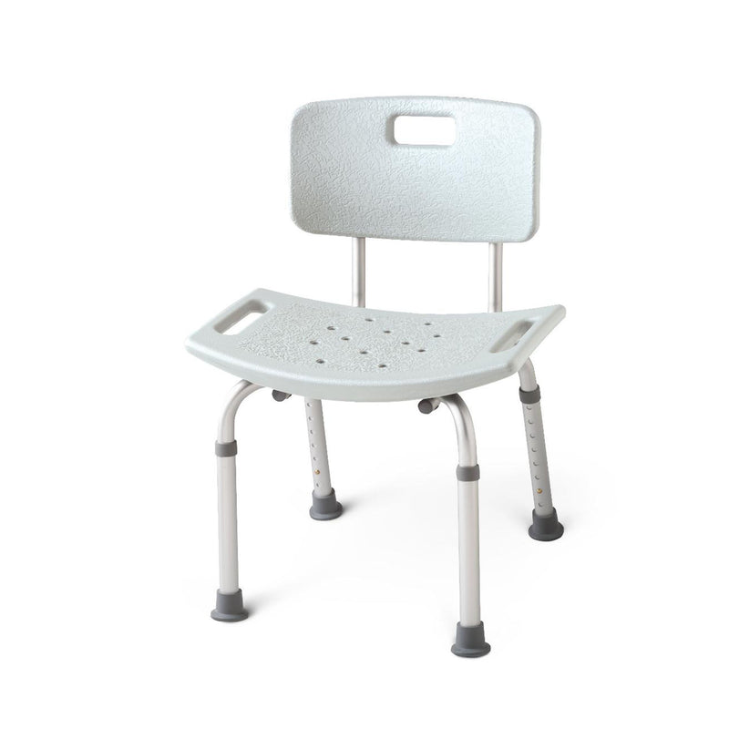 Medline Guardian Aluminum Shower Chair with Back