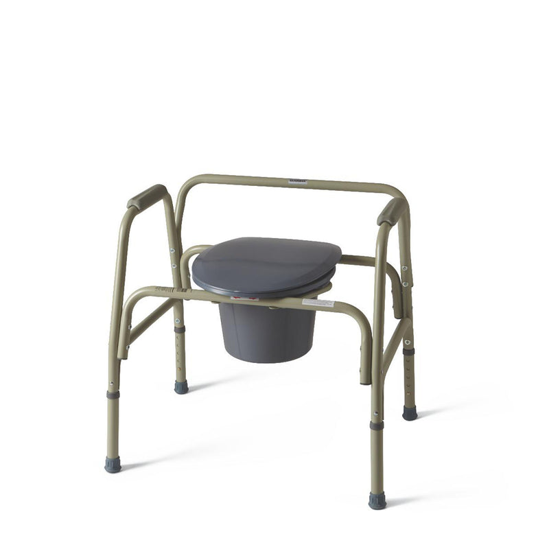 Medline Guardian Steel Bariatric Commode