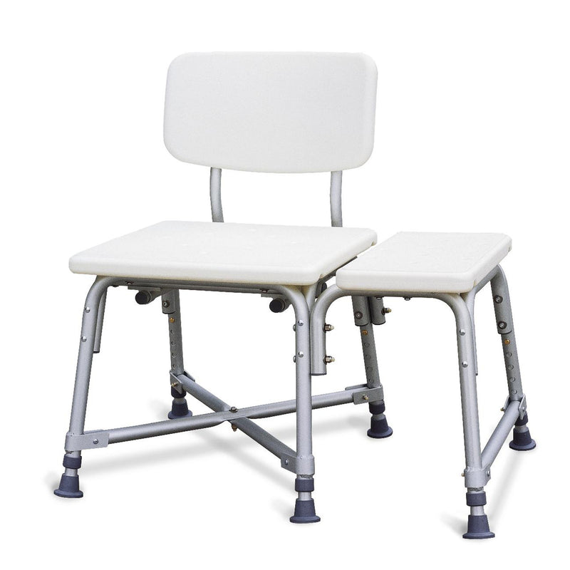 Medline Guardian Non-Padded Bariatric Transfer Bench