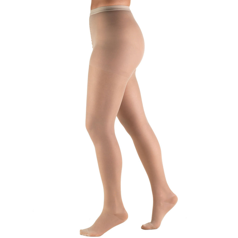 Women's Compression Pantyhose, 15-20 mmHg, Sheer Nude, 1775