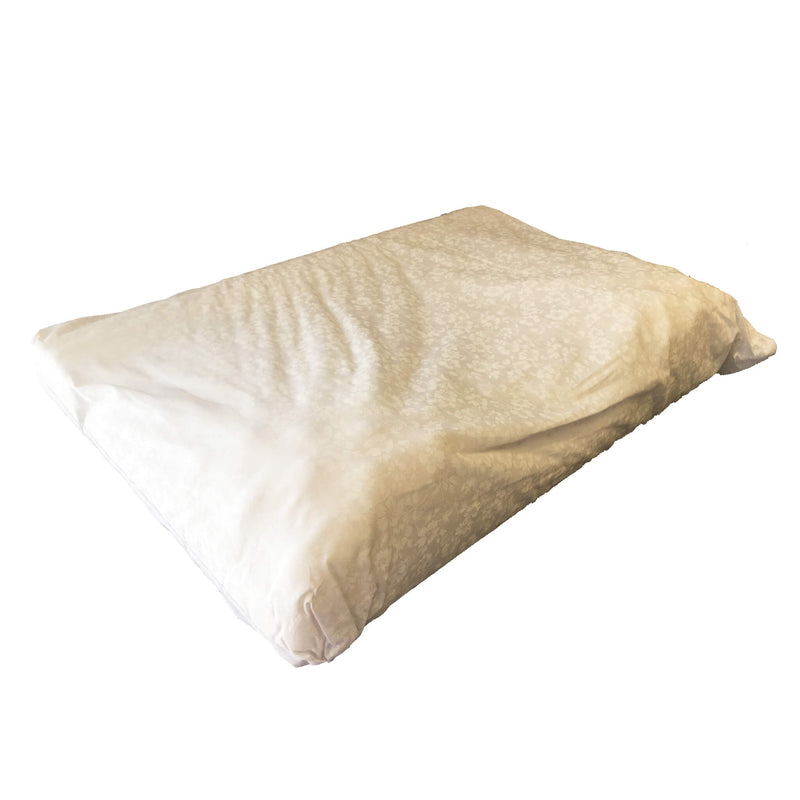 Softeze™ No Snore Pillow with White Polycotton Cover