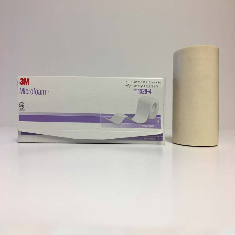 "3M™ Microfoam Surgical Tape 4"" x 10 yds"