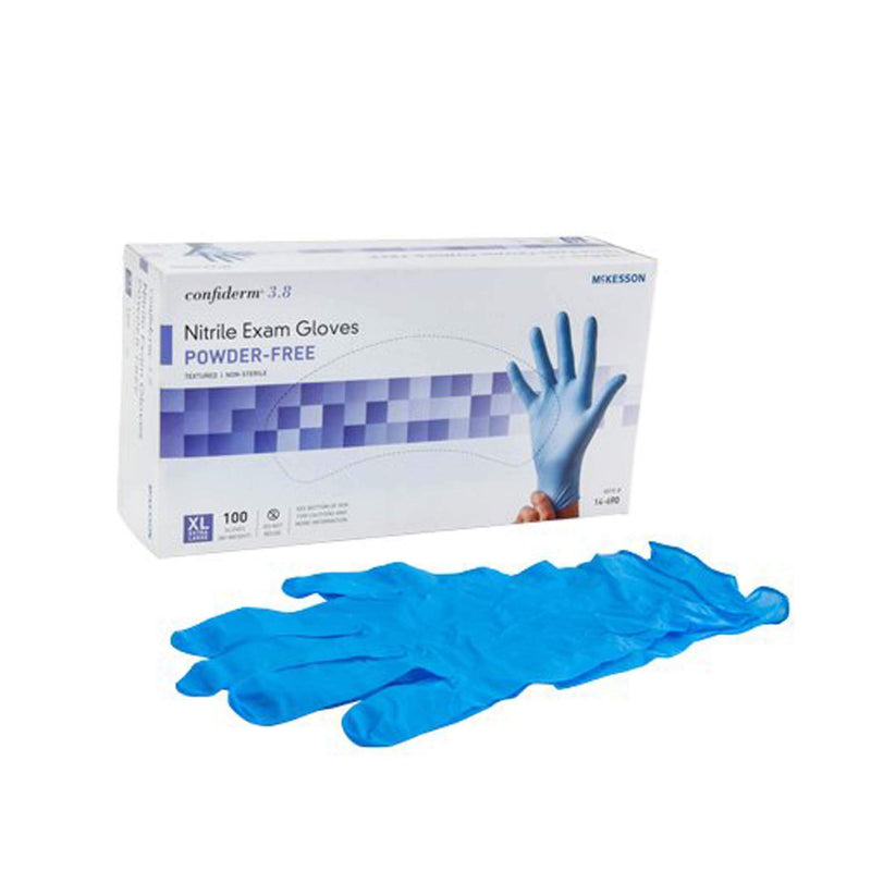 McKesson Nitrile Exam Gloves (Extra Large)
