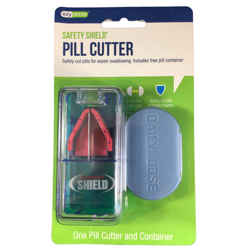 Safety Shield® Pill Cutter and Pill Container