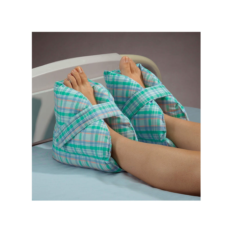 Posey Heel Pillows (Pastel Plaid)