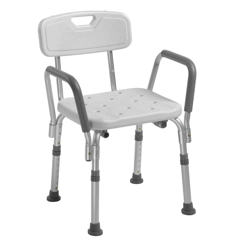 Shower Chair with Removable Padded Arms