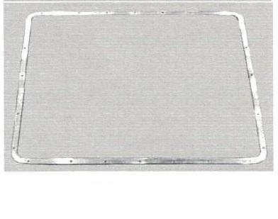 "Peterbilt 357 / 378 / 379 Short New Aftermarket Aluminum 1"" Grill Insert Trim"