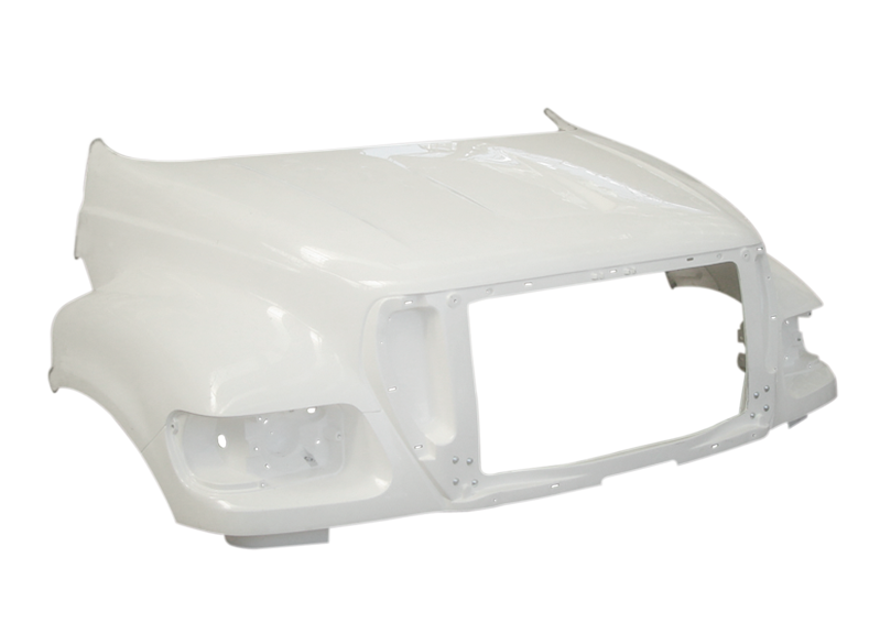 Ford F-650 / F-750 / F-850 New Hood 2010 & Up - Big Truck Hoods