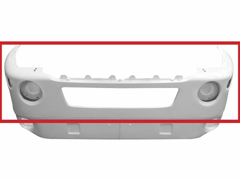 Kenworth T-2000 New Aftermarket Fiberglass Bumper Center - Big Truck Hoods