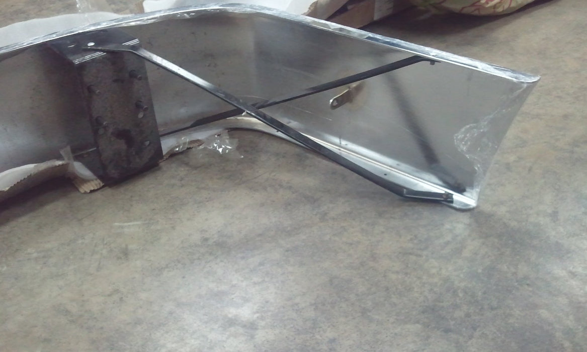 Volvo VNL Gen 1 Steel Chrome Aero Bumper 12 in. Tall - Big Truck Hoods