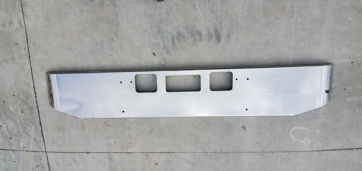 Freightliner Coronado Bumper Steel Chrome *Cosmetic Blemish