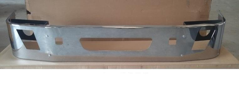 Volvo VNL Gen 2 Steel Chrome Bumper 14 in. Tall - Big Truck Hoods