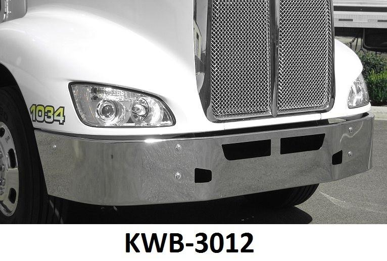 Kenworth T-660 Steel Chrome Bumper - Big Truck Hoods
