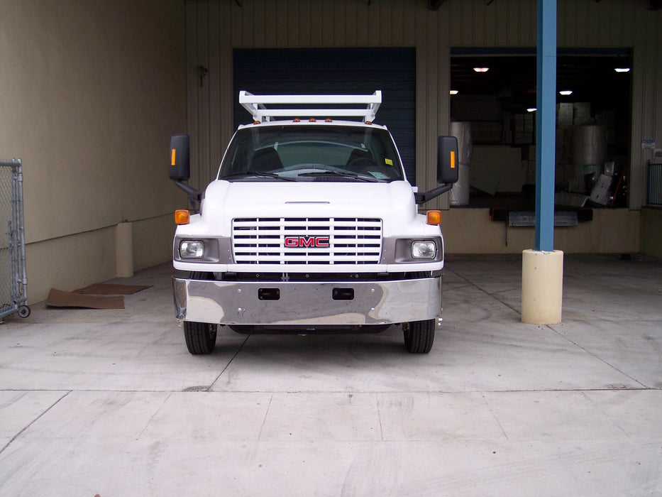 GMC C4500 / C5500 Steel Chrome Bumper - Big Truck Hoods
