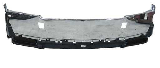 Western Star 5700 OEM Steel Chrome Plastic Aero Bumper. Tow Holes. No Lights. PN: A21-28877-006, A21-28877-018