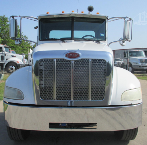 Peterbilt 337 Steel Chrome Bumper
