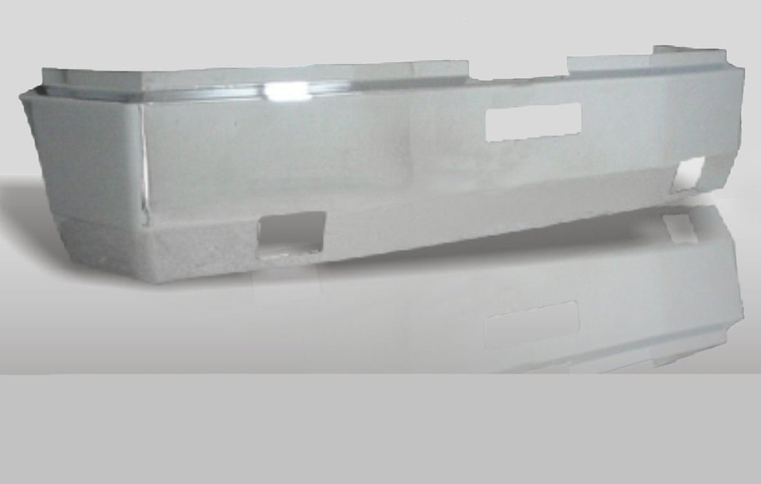 Freightliner FLD 120 & FLD 112 18 in. Bumper Steel Chrome - Big Truck Hoods