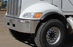 Peterbilt 348 New Aftermarket Steel Chrome Bumper - Big Truck Hoods