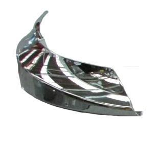 International ProStar SS Clad Alumium    Bumper Filler Panel Chrome Right Hand - Big Truck Hoods