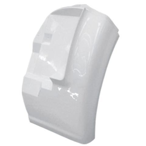 International 8100 New Aftermarket Passenger Side Fiberglass Quarter Fender - Big Truck Hoods