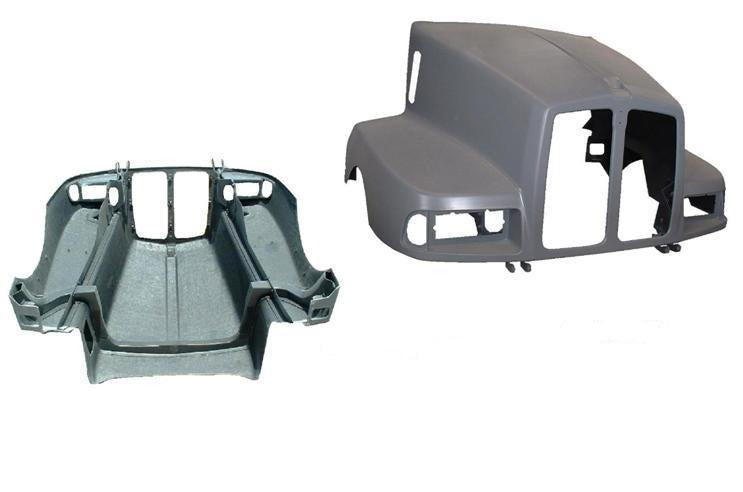 Kenworth T-600 1 Pcs. Replacement For The 3 Pcs. Hood - Big Truck Hoods