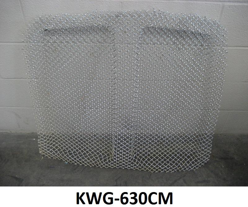 Kenworth T-600 B II New Aftermarket Aero Mesh Chrome Grill