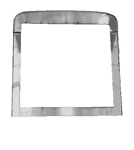 Peterbilt 379 Extended Modified Steel Chrome Grill Trim Set. - Big Truck Hoods