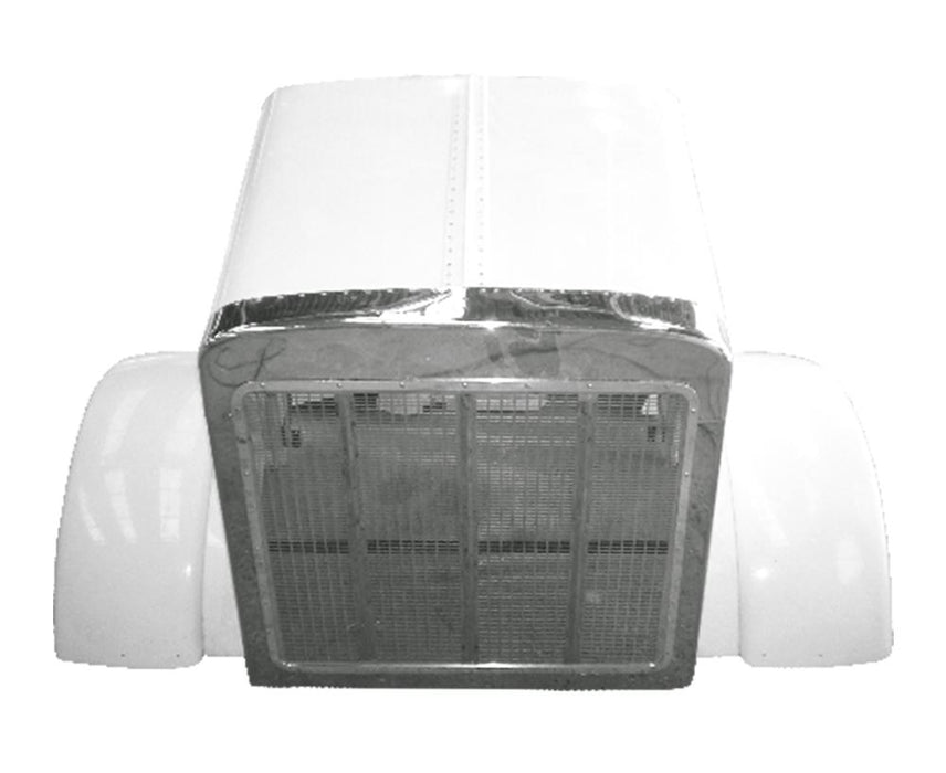 Peterbilt 379 Extended Hood With Grill & Surround - Big Truck Hoods