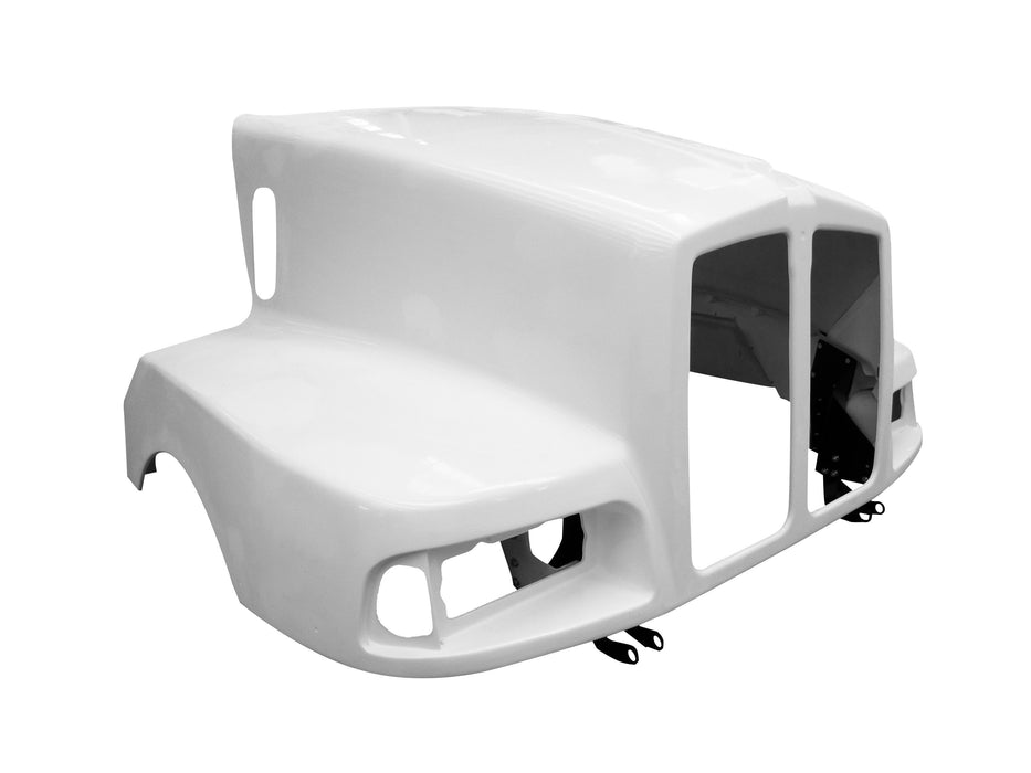 Kenworth T-600 New Aftermarket 1 Pcs. Replacement For The 3 Pcs. Hood - Big Truck Hoods