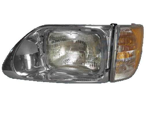 International 9200 / 9400 Drivers Side Headlight Assembly - Big Truck Hoods