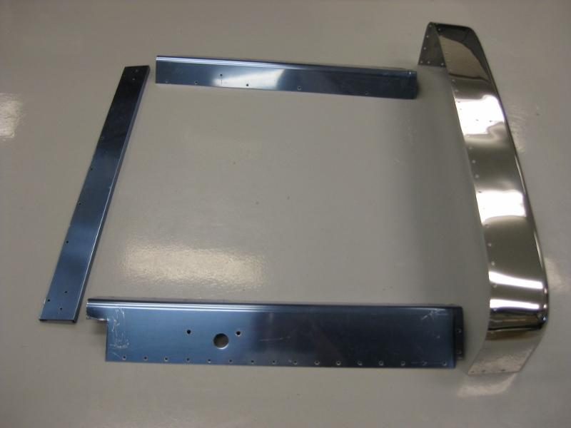 Peterbilt 379 Extended New Aftermarket Steel Chrome Grill Trim Set.