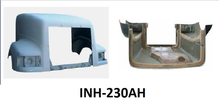International 9400 Hood Old Style Air Through Hood - Big Truck Hoods